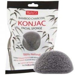 Gąbka KONJAC do Mycia Twarzy z Aktywnym Węglem, Beauty Formulas