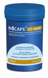 BICAPS D3 4000, Witamina D3, ForMeds