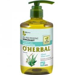 Nawilżający Żel pod Prysznic z Ekstraktem z Aloesu, O'Herbal