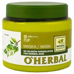 Maska do Włosów Normalnych z Ekstraktem z Brzozy, O'Herbal
