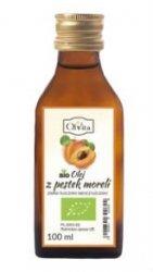 BIO Olej z Pestek Moreli Zimnotłoczony, Nieoczyszczony, Olvita
