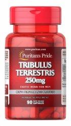 Tribulus Terrestris 250 mg, Puritan's Pride, 90 kapsułek