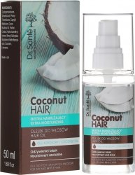 Olejek do Włosów Suchych i Łamliwych Dr. Sante Coconut Hair