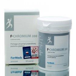 F-CHROMIUM 200 Formeds, Chrom Suplement Diety w Proszku, 60 porcji