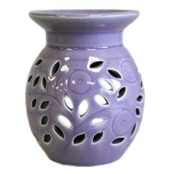 Kwiat Fioletowy - Kominek Zapachowy Ceramiczny