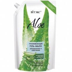 Żel-Mydło Aloe 97% Nawilżanie i Zmiękczanie, Vitex, 750ml