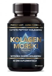 Kolagen Morski, Intenson, 90 tabletek