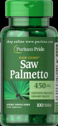 Saw Palmetto Puritan's Pride, 450mg, 100 kapsułek
