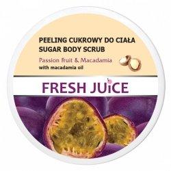Passion Fruit & Macadamia Peeling Cukrowy do Ciała, Fresh Juice
