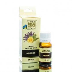 Kompozycja Naturalnych Olejków Eterycznych Relaksacyjna, Flora Secret