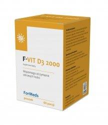 Formeds F- VIT D3 2000, Witamina D3 w Proszku