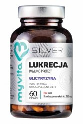 Lukrecja (Glicyryzyna) SILVER PURE 100%, Myvita