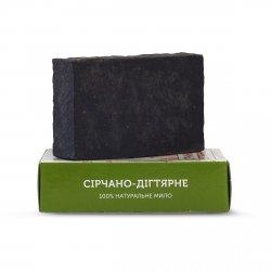 Mydło Naturalne Ręcznie Robione Siarkowo-Dziegciowe, 75 g