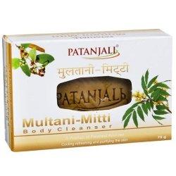 Ajurwedyjskie Mydło z Glinką Multani-Mitti Patanjali, 75g