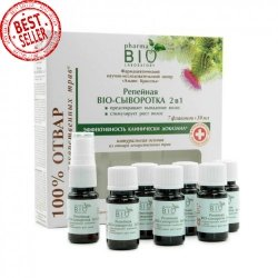 Bio Serum Łopianowe 2 w 1 Przeciw Wypadaniu Włosów, 7 Ampulek x 10 ml