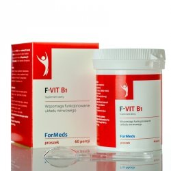ForMeds F-VIT B1, Witamina B1, Suplement Diety w Proszku