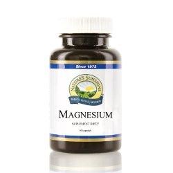 Magnesium, Magnez, Nature's Sunshine, 90 kapsułek