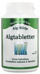 Algtabletter, Algi Morskie w Tabletkach, Suplement Diety, Alg-Börje