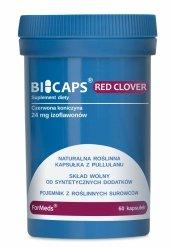 BICAPS RED CLOVER Formeds, 60 kapsułek, Czerwona Koniczyna