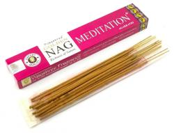 Kadzidełka Golden Nag Meditation Medytacja, Vijayshree, 15g