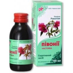 Krople z Piwonii, Piwonia (Paeonia officinalis), 100 ml