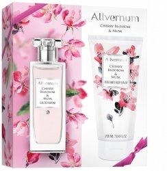 Zestaw Prezentowy Cherry Bloosom & Musk i Balsam Perfumowany, Allvernum