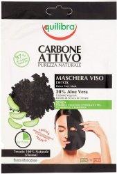 Oczyszczająca Maska do Twarzy z Aktywnym Węglem, Equilibra