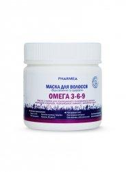 Maseczka do Włosów Odbudowująca Kwasy Omega 3-6-9, Pharmea