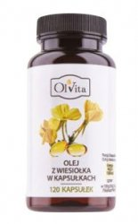 Olej z Wiesiołka, Olvita, 120 kapsułek