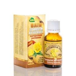 Olej z Wiesiołka, Wiesiołkowy, 100% Naturalny, 20 ml Adverso