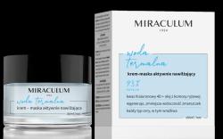 Krem–Maska Aktywnie Nawilżający, Miraculum Woda Termalna, 50 ml
