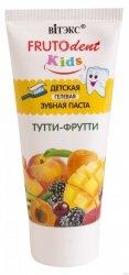 Żelowa Pasta do Zębów dla Dzieci TUTTI-FRUTTI, Frutodent Kids, 65g