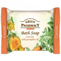Мыло косметическое Морковь и Тыквенное масло, Зеленая аптека