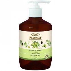 Жидкое мыло Оливка, Зеленая аптека