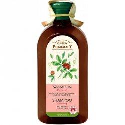Шампунь Женьшень для волос, жирных у корней и сухих на кончиках, Зеленая Аптека