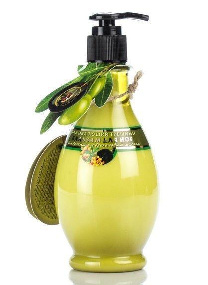 Regenerating Foot Cream with olive oil and sea buckthorn oil Viva Oliva