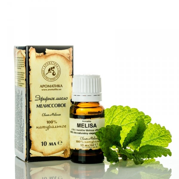 Melissa Essential Oil, 100% Pure Natural Aromatika