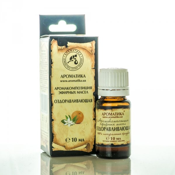Healing Essential Oil Blend, 10 ml Aromatika
