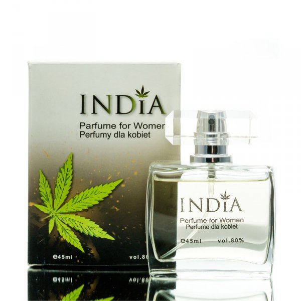 Perfumy Damskie z Nutą Konopi, 45ml India Cosmetics