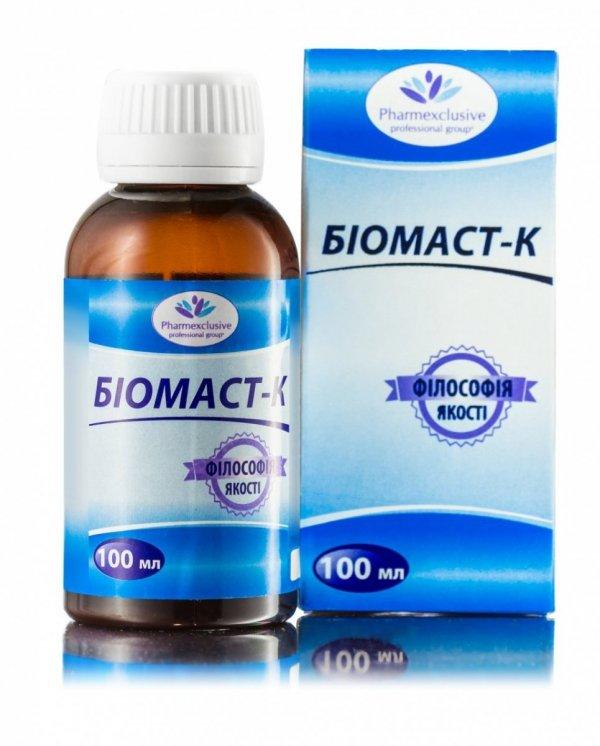 Biomast-K, Układ Hormonalny, 100ml