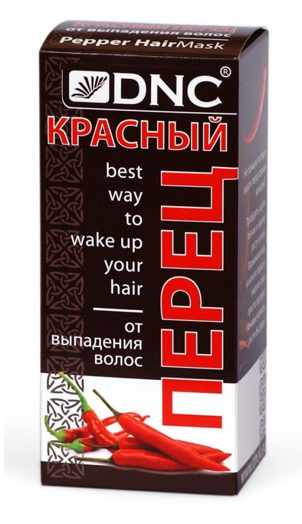 Maska przeciw Wypadaniu Włosów z Papryką Chili DNC