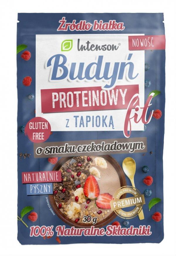 Budyń Proteinowy Czekoladowy, Intenson, 30g