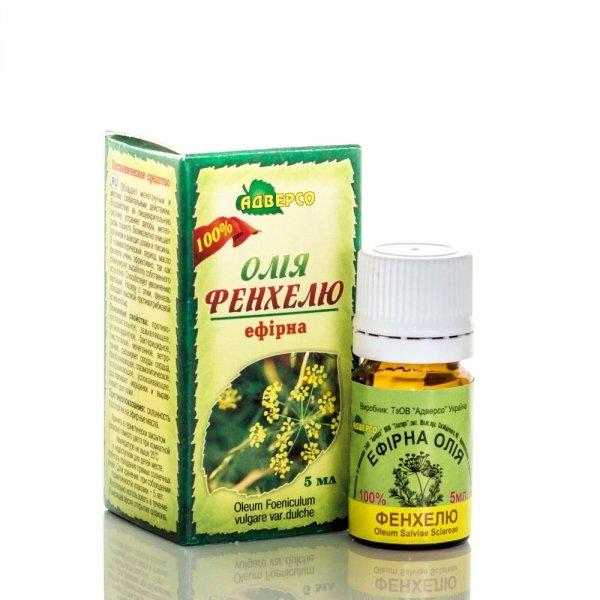 Olejek Fenkułowy, 100% Naturalny Adverso