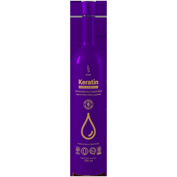 Keratin Hair Complex, Keratyna w Płynie DuoLife, 750 ml