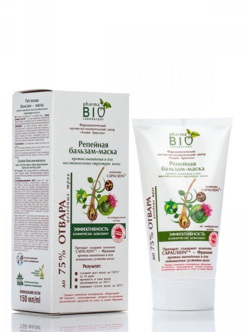 Rebuilding Burdock Hair Mask Against Hair Loss Bio Pharma, 150 ml