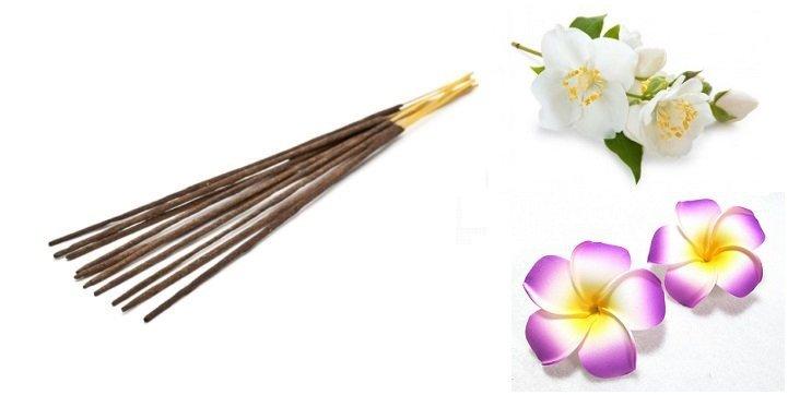 Incense Sticks Plumeria & Jasmine, Aromatika