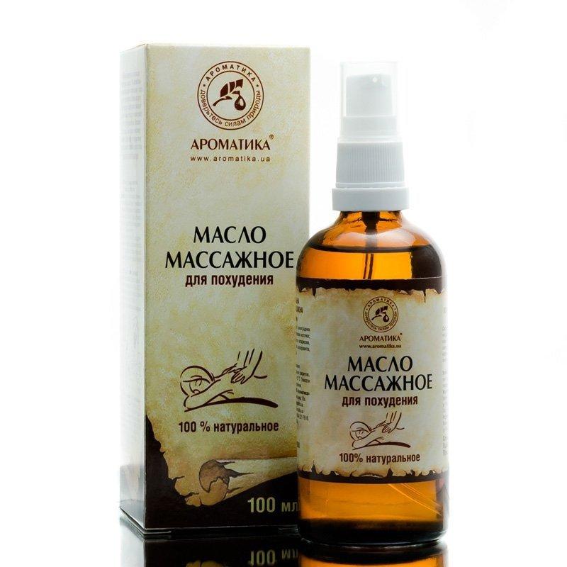Slimming Massage Oil, 100% Natural