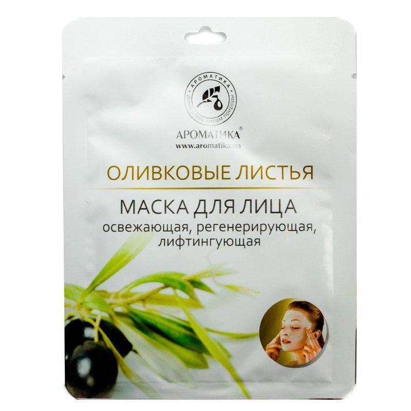 Olive Leaf Face Bio-cellulose Mask, 35 g Aromatika