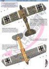 Mirage 481306 1/48 HALBERSTADT CL II Samolot Szturmowy Dwumiejscowy Wczesna Wersja