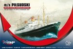 Mirage 500601 1/500 M/S PILSUDSKI  (Trans-Atlantic Passenger Ship)